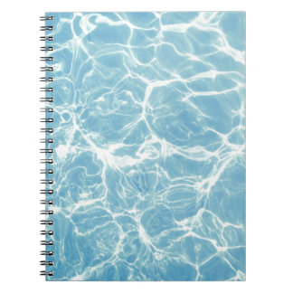 Pool Water, Pool, Swim, Summer Notebook