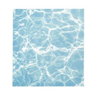 Pool Water, Pool, Swim, Summer Notepad