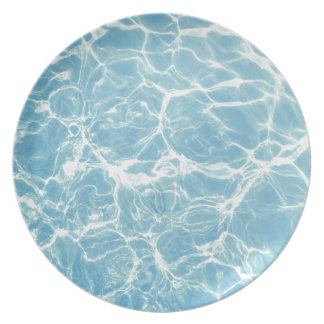 Pool Water, Pool, Swim, Summer Plate