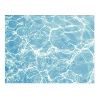 Pool Water, Pool, Swim, Summer Postcard