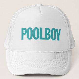 Poolboy. Trucker Hat
