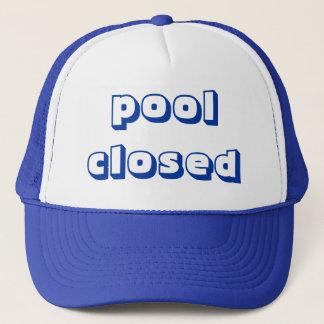 poolclosed trucker hat