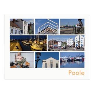 Poole multi-image postcard