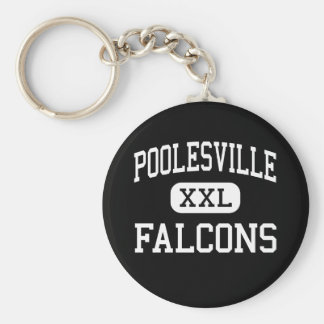 Poolesville - Falcons - High - Poolesville Keychains