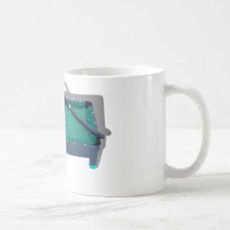 PoolTable042509shadows Coffee Mug