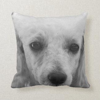 Pooodle dog throw pillow