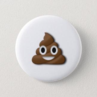 Poop ! 6 cm round badge