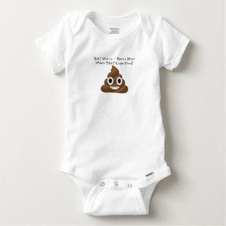 Poop-a-plenty! Baby Onesie