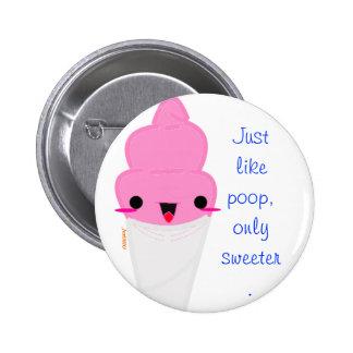 Poop Cotton Buttons