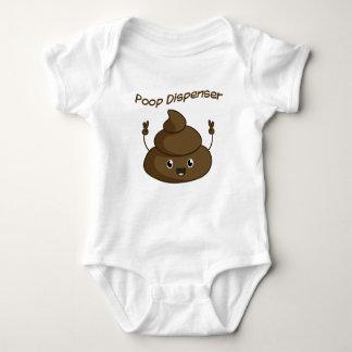 Poop Dispencer - Poo, Baby Jersey Bodysuit