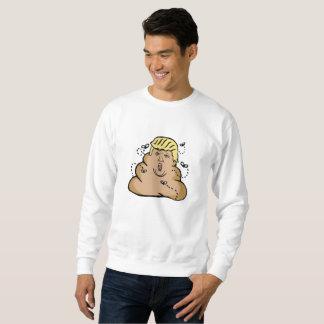 poop donald trump mens sweatshirt