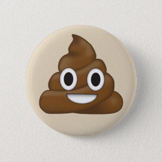 Poop Emoji 6 Cm Round Badge