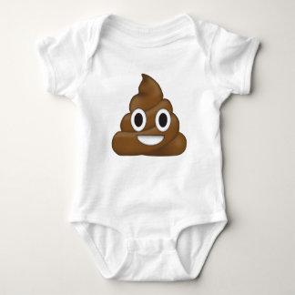 Poop emoji baby bodysuit
