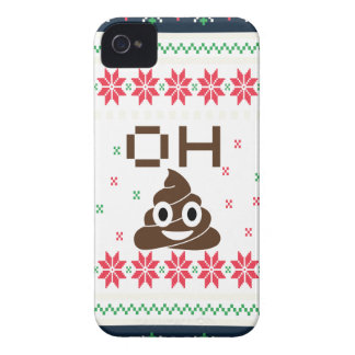 Poop emoji Case-Mate iPhone 4 cases