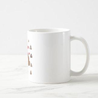 poop emoji coffee mug