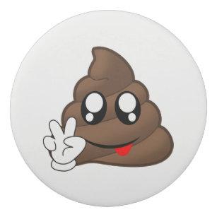 Peace Emoji Black