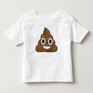 Poop emoji toddler T-Shirt