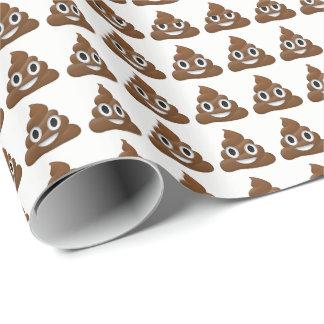 Poop Emoji Wrapping Paper