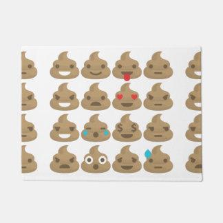 poop emojis door mat doormat