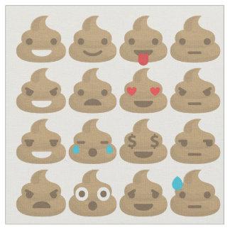 poop emojis fabric