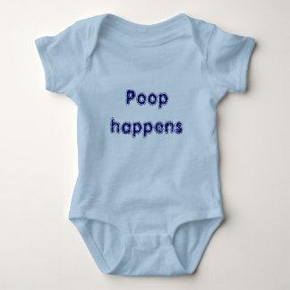 Poop happens baby bodysuit