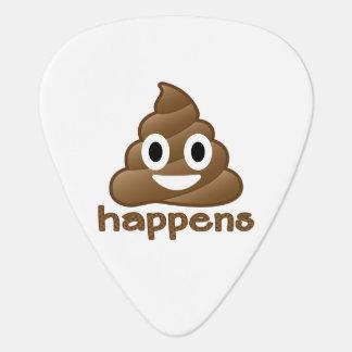 Poop Happens Emoji Plectrum