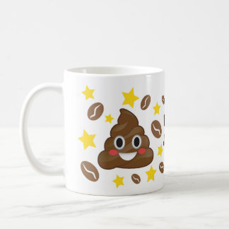 Poop Juice Emoji Happy Mug