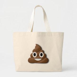 Poop ! large tote bag