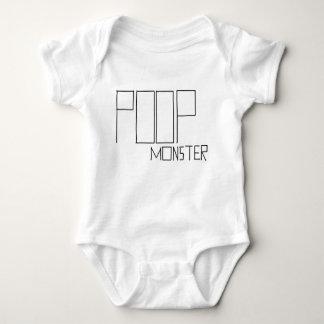 poop monster baby bodysuit