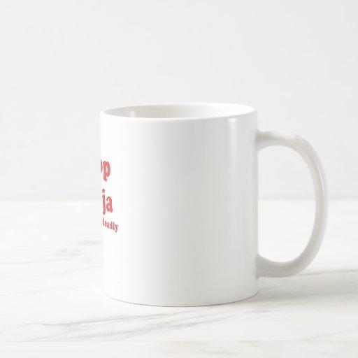 Poop Ninja Silent but Deadly Mug