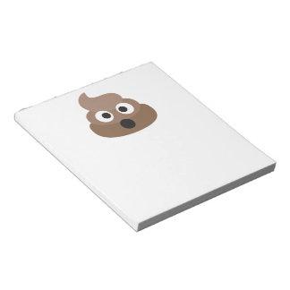 Poop Oh Emoji Notepad