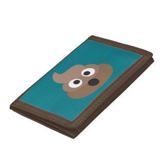 Poop Oh Emoji Trifold Wallets