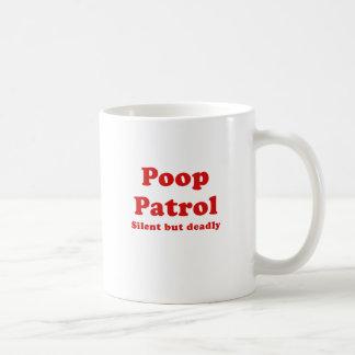 Poop Patrol Silent But Deadly Mugs