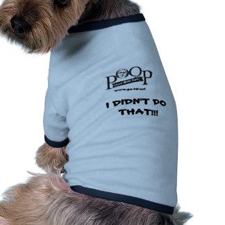 POOP Stuff- Dog Tee Shirt