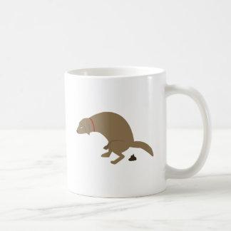 Pooping Dog Coffee Mug