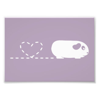 Pooping Guinea Pig Print (Frames Available!) Photo