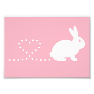 Pooping Rabbit Print (Frames Available!) Photo Art