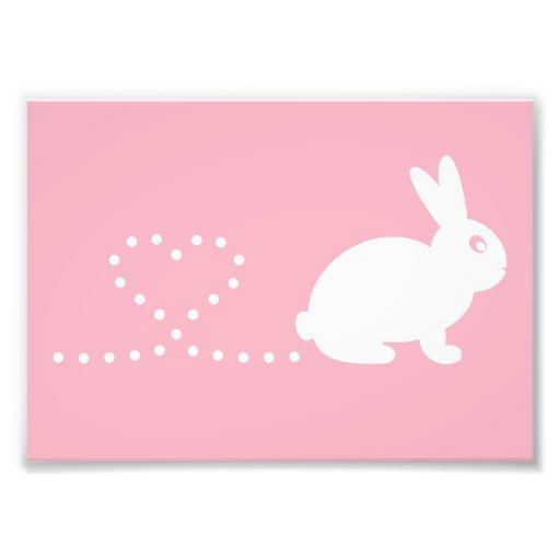 Pooping Rabbit Print (Frames Available!) Photo Art