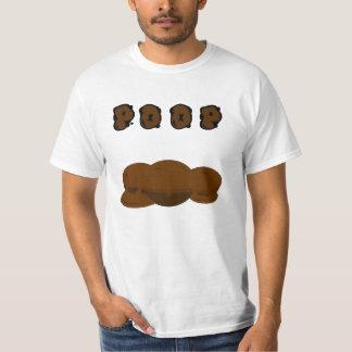 Pooprints moist poop shirt