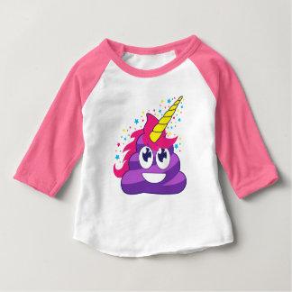 Poopy Unicorn Emoji Baby T-Shirt