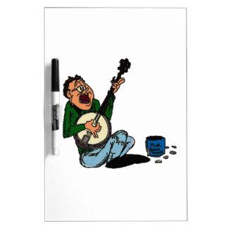 Poor Banjo Picker Dry-Erase Board