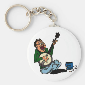 Poor Banjo Picker Keychain
