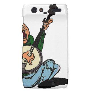 Poor Banjo Picker Motorola Droid RAZR Cover
