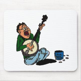Poor Banjo Picker Mousepad