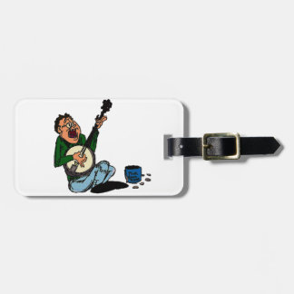 Poor Banjo Picker Tags For Luggage