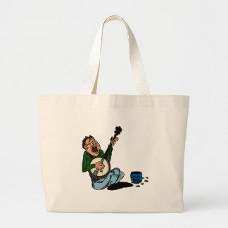 Poor Banjo Picker Tote Bags