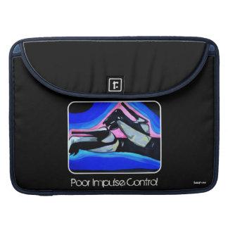 'Poor Impulse Control' MacBook Pro Flap Sleeve Sleeves For MacBook Pro