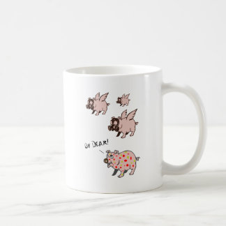 Poor Little Piggy Basic White Mug