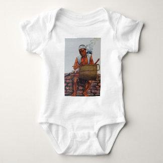 Poor native baby bodysuit