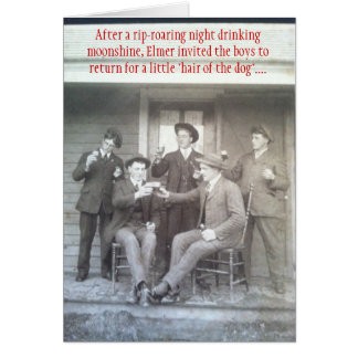 Poor Ol' Buster -  Vintage Card